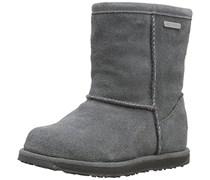 Emu Brumby Lo, Mädchen Halbschaft Stiefel, Grau (Charcoal), 31 EU (12 Kinder UK)