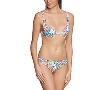 Palmers Damen Bikini-Set gefüttert Tropical Sun, Geblümt, Gr. 38, 75D (Herstellergröße: D/S (Cup D/Größe S)), Mehrfarbig (Bunt 199)
