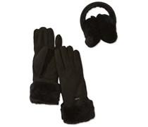 Emu Accessoires Damen Handschuh Penneshaw Gift Set, W1418, Gr. 6.5 (XS/S), Schwarz (black)