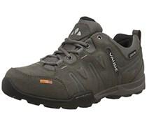 VAUDE Men's Grounder Ceplex Low II, Herren Sneakers Schnürhalbschuhe, Grau (charcoal), 45 EU (10.5 Herren UK)