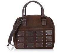 CINQUE Beppina Bowling Bag 11704 8600 C15 Damen Bowlingtaschen 28x22x23 cm (B x H x T), Braun (dkl braun 8600)