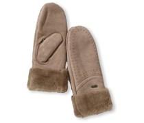 Emu Accessoires Damen Handschuh Otway Mittens, W9404, Gr. 7.5 (M/L), Braun(mushroom)