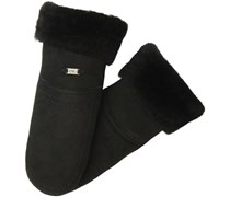 Emu Accessoires Damen Handschuh Otway Mittens, W9404, Gr. 6.5 (XS/S), Schwarz (black)