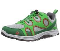 Jack Wolfskin SOUTHPARK LOW K, Unisex-Kinder Sneakers, Grün (cucumber green 4033), 38 EU (5 Kinder UK)