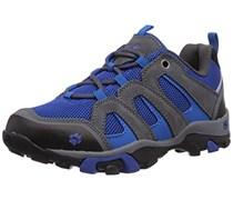 Jack Wolfskin BOYS MTN ATTACK LOW, Jungen Trekking- & Wanderhalbschuhe, Blau (classic blue 1127), 34 EU (2 Kinder UK)