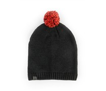 Nike Pom Pom Basic Mütze black chlgrd