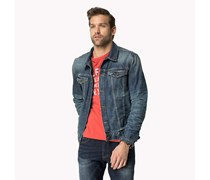 Big & Tall Lewis Worn Jeansjacke
