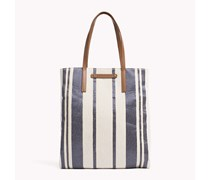 Jacquard Large Tote Tasche