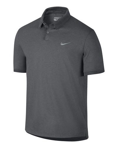 nike herren nike golf herren polo shirt transition heather grau reduziert. Black Bedroom Furniture Sets. Home Design Ideas