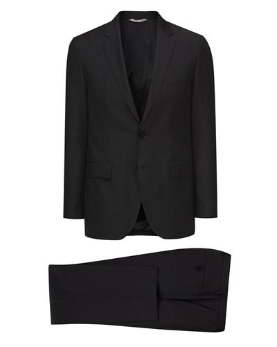 hugo boss herren boss herren anzug rider shout anthrazit 50. Black Bedroom Furniture Sets. Home Design Ideas