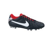 Nike Herren Fußballschuh Kunstrasen Tiempo Mystic IV AG, schwarz