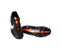 Nike Herren Fußballschuh Rasen Tiempo Flight IV FG, schwarz