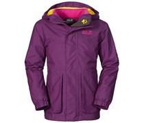 Jack Wolfskin: Mädchen 3in1 Jacke Snowpark Jacket, purple