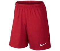 Nike Herren Fußball Stadium Short USA WM 2014, rot