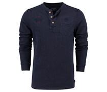 New Zealand Auckland: Herren Shirt Langarm, marine