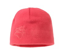 Jack Wolfskin: Girls Mütze Kids Fleece Cap, beere