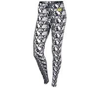 Nike Damen Fitnesstight / Leggings Leg-A-See-Allover Print, schwarz
