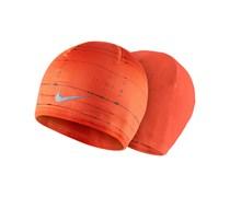 Nike Herren Laufsport Mütze Run CW Beanie orange, orange