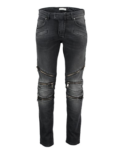 balmain herren pierre balmain herren jeans schwarz reduziert. Black Bedroom Furniture Sets. Home Design Ideas