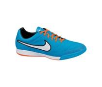 Nike Herren Fußballschuh Halle Tiempo Legacy IC, blau