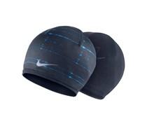Nike Herren Laufsport Mütze Run CW Beanie blau, marine