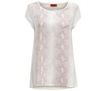 HUGO: Damen Shirt, offwhite
