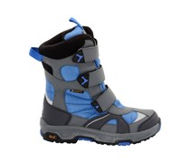 Jack Wolfskin: Kinder Winterstiefel Kids Snow Diver Texapore, blue