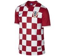 Nike Herren Fußball Home Stadium Jersey Kroatien WM 2014, rot