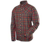 Haglöfs: Herren Wanderhemd / Trekkinghemd Astral LS Shirt, olive