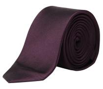 s.Oliver Premium: Herren Krawatte, aubergine