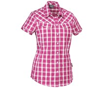 Jack Wolfskin: Damen Wanderbluse / Outdoor-Bluse Mara Shirt Women, pink