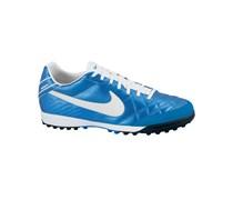 Nike Herren Fußballschuh Hartplatz/Kunstrasen Tiempo Mystic IV TF, blau