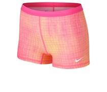 Nike Damen Tennis Slam printed Short, pink