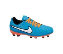 Nike Boys Fußballschuh Rasen Tiempo Genio Leather, aqua