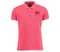 New Zealand Auckland: Herren Polo-Shirt Kurzarm, rot