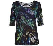 Marc Cain: Damen T-Shirt, schwarz