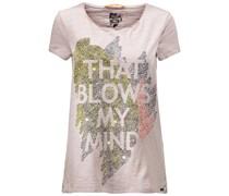 BOSS Orange: Damen T-Shirt Tabacka, rose