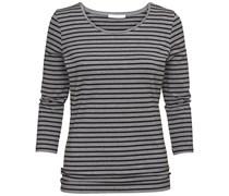 BOSS: Damen Langarm Shirt, schwarz