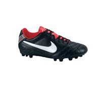 Nike Herren Fußballschuh Tiempo Natural IV LTR AG, schwarz