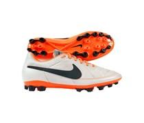 Nike Herren Fußballschuh Kunstrasen Tiempo Genio Leather AG, sand