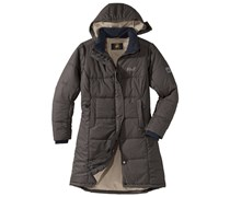 Jack Wolfskin: Damen Outdoor-Mantel / Wintermantel Iceguard Coat, olive