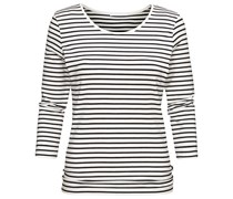 BOSS: Damen Langarm Shirt, offwhite