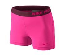 Nike Damen Trainingsshorts Pro 3 Short, pink