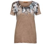 BOSS Orange: Damen T-Shirt Taliasi, sand