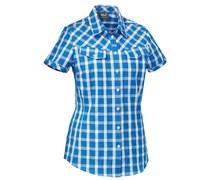 Jack Wolfskin: Damen Wanderbluse / Outdoor-Bluse Mara Shirt Women, marine