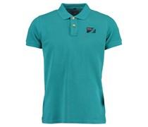 New Zealand Auckland: Herren Polo-Shirt Kurzarm, blau