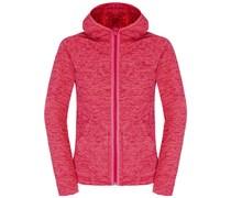 The North Face: Damen Fleecejacke mit Kapuze Nikster Full Zip Hoodie W, pink