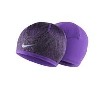 Nike Herren Laufsport Mütze Run CW Beanie lila, pink