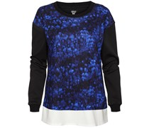 Marc Cain: Damen Langarm Shirt, blau