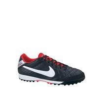 Nike Herren Fußballschuh Hartplatz/Kunstrasen Tiempo Mystic IV TF, schwarz